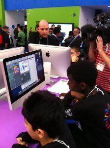 Unge programmerer på BETT