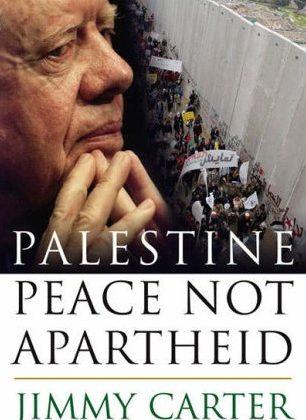 Jimmy Carter håber på fred, ikke apartheid mellem Israel og Palæstina.