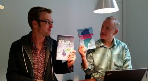 Første møde på Gyldendal i 2015