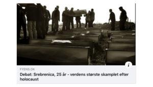 Srebrenica 25 år efter