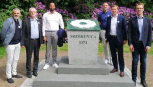 Mindesten for Srebrenica-folkemordet indviet i Aalborg